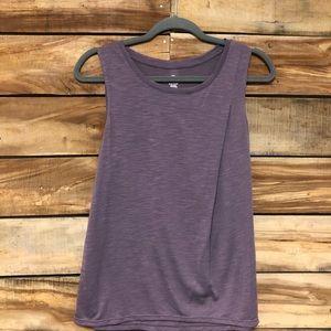 Gaiam medium purple tank top